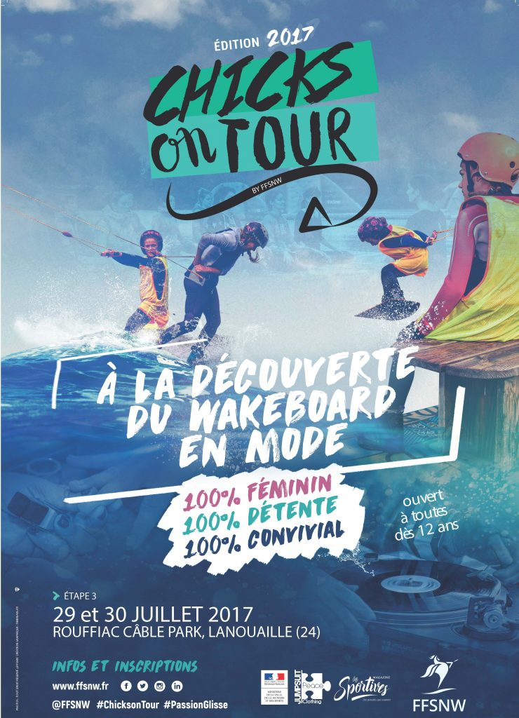 AFFICHE CHICKS ON TOUR ROUFFIAC